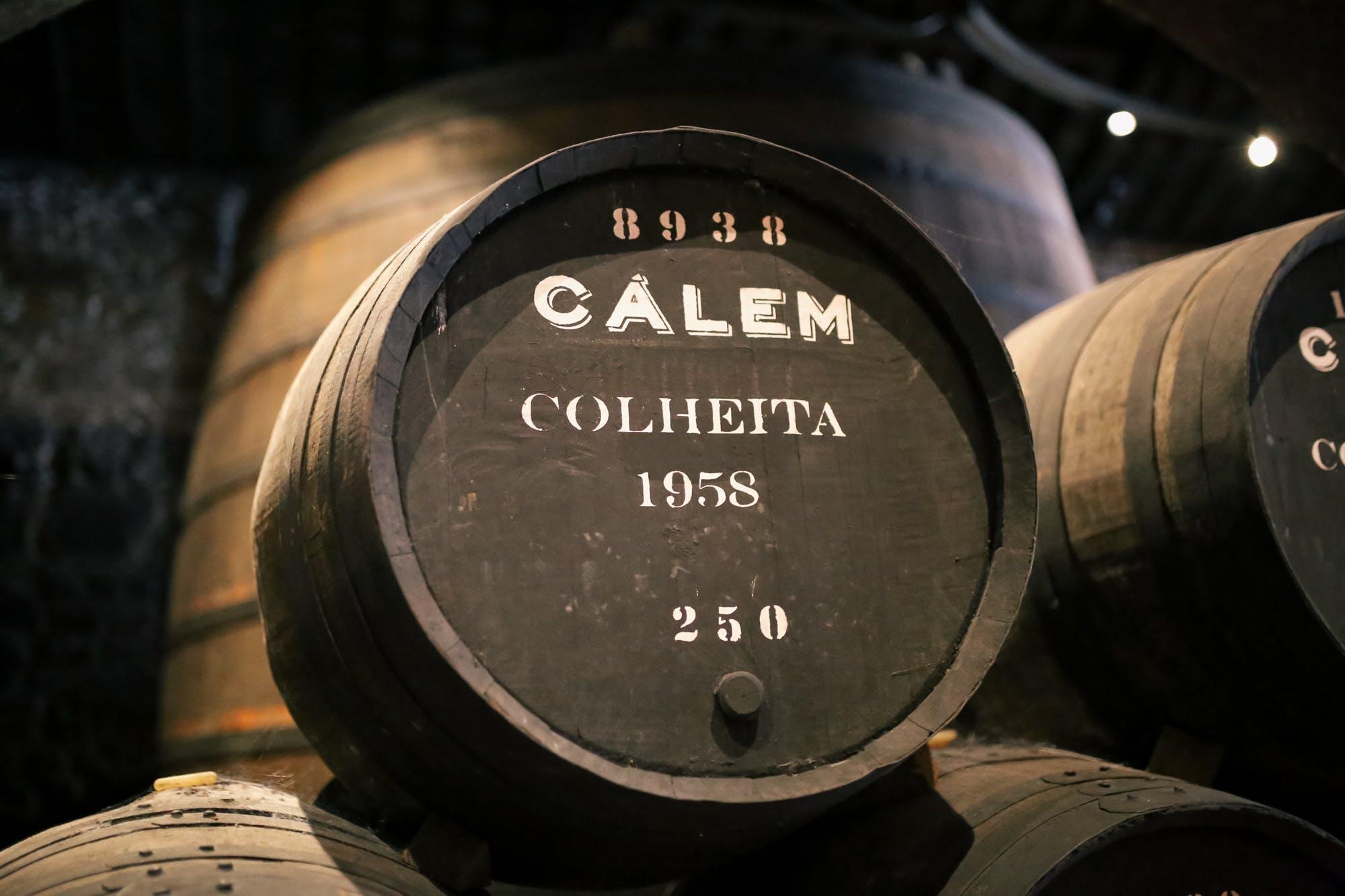 port wine cellars calem review