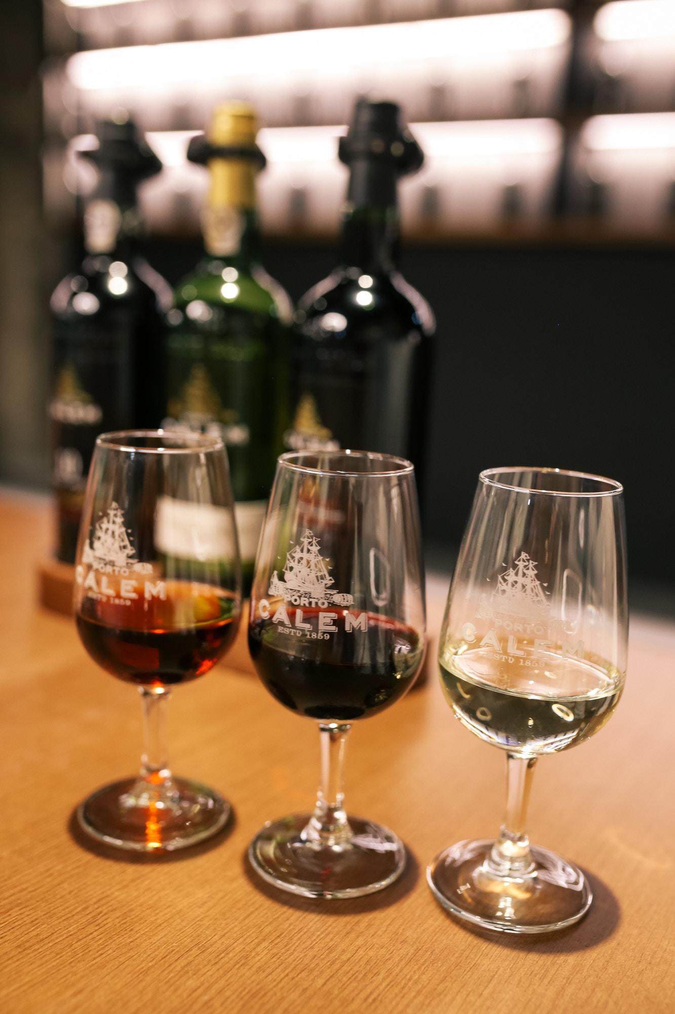 port wine cellars calem review samples