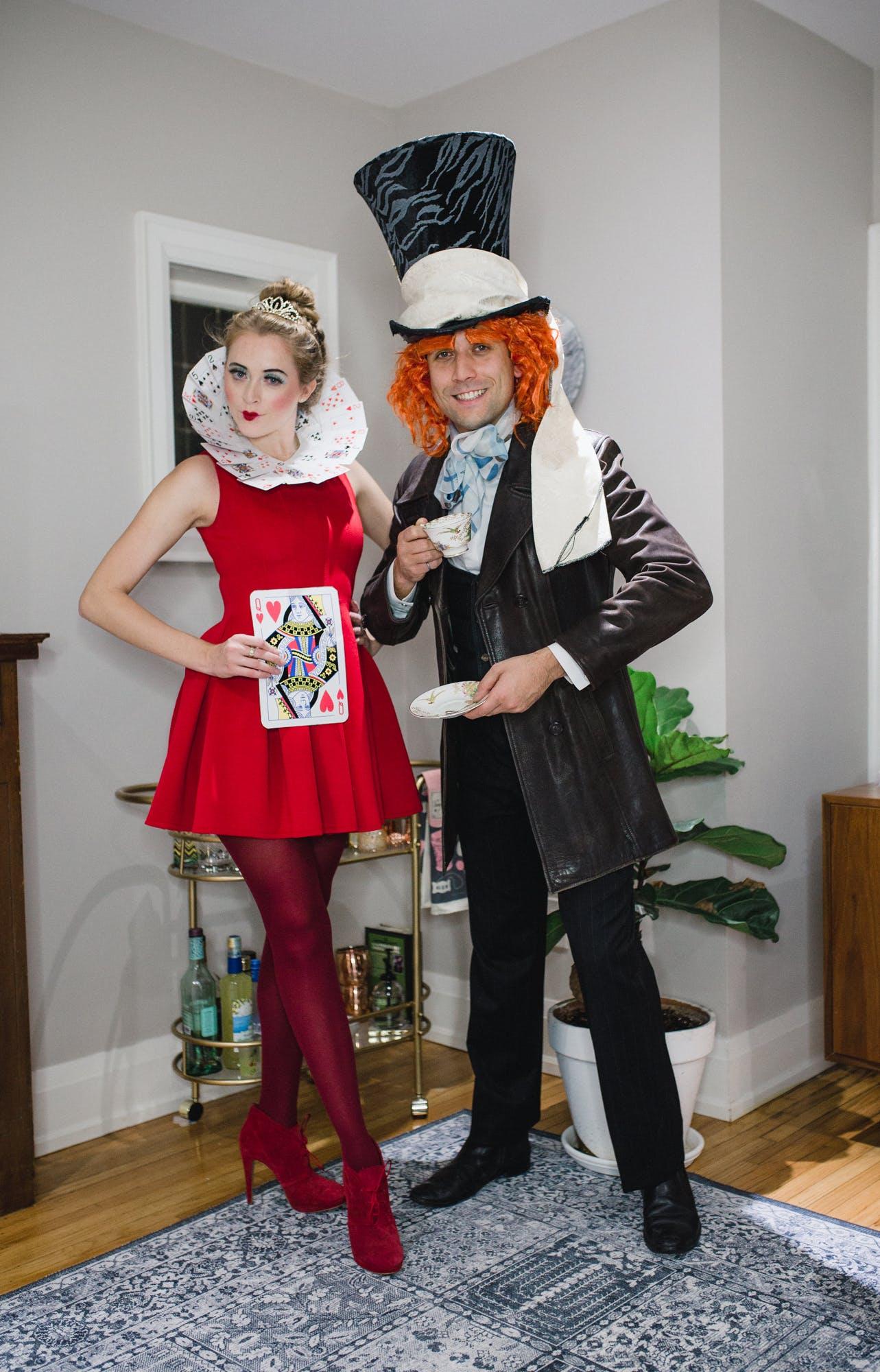 Alice in Wonderland couples Halloween Costume