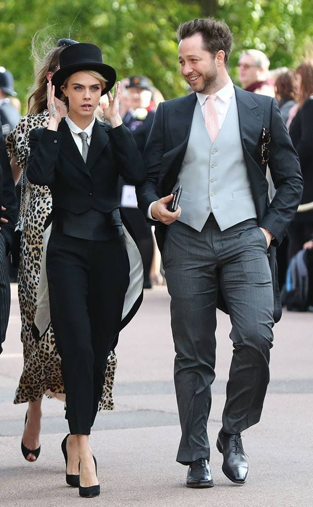 Cara Delevingne at Princess Eugenie Royal Wedding