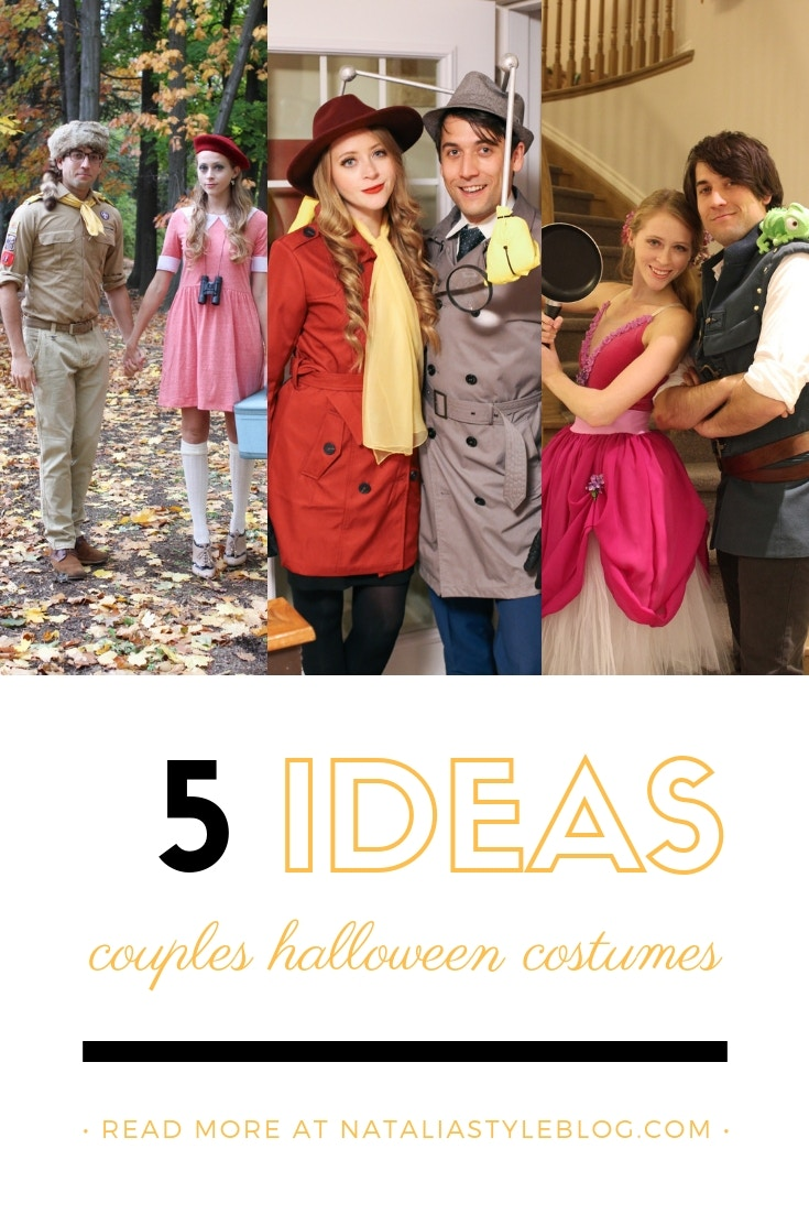5 Couples Halloween Costume Ideas: sharing a post on my favourite couples Halloween costumes we've created over the years!