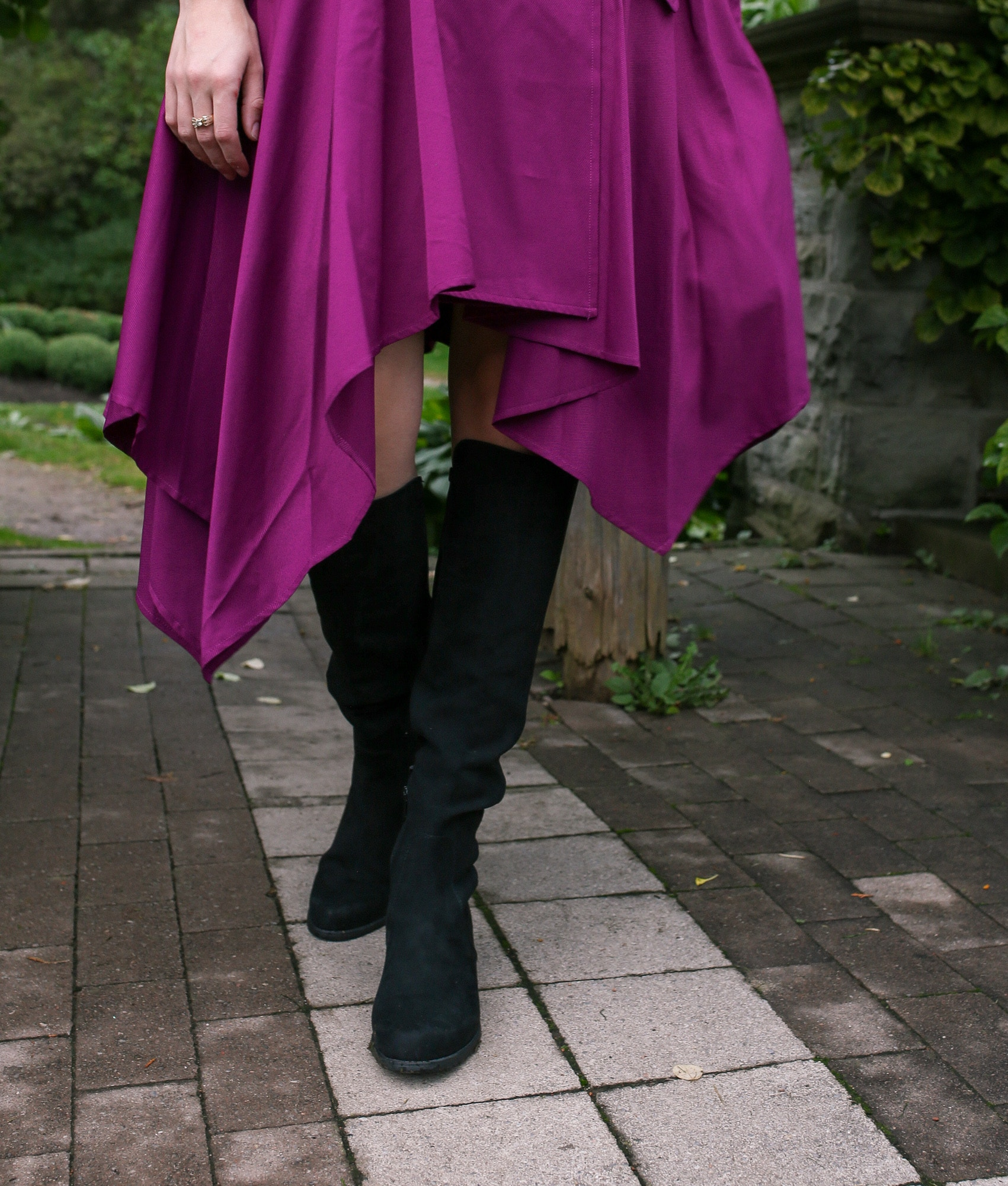 Over the knee Unisa Indyia boots from DSW review