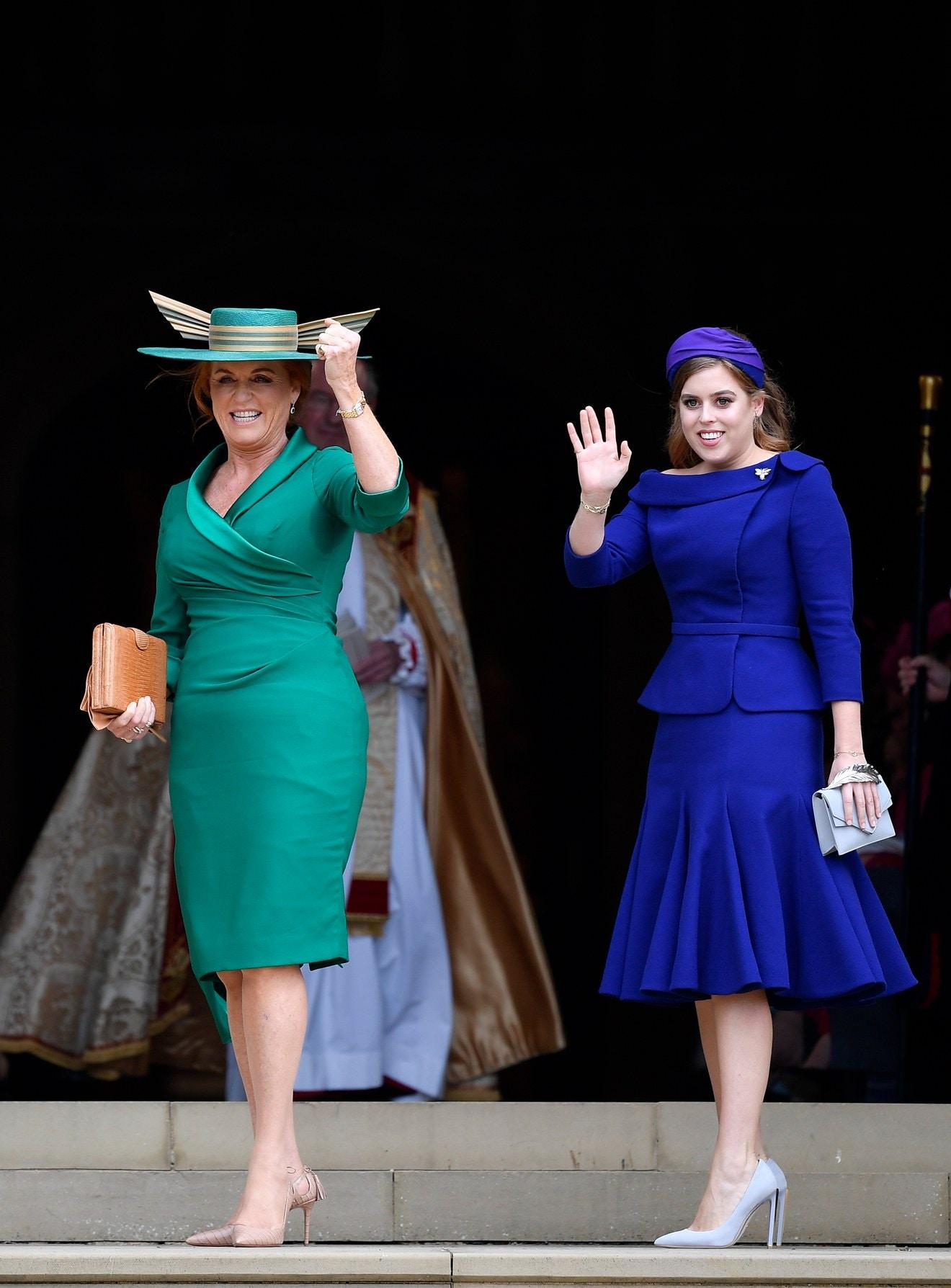 Princess Beautrice and Sarah Ferguson Royal Wedding