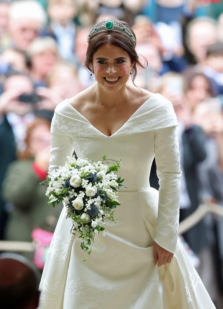 Royal Wedding of Princess Eugenie wedding look