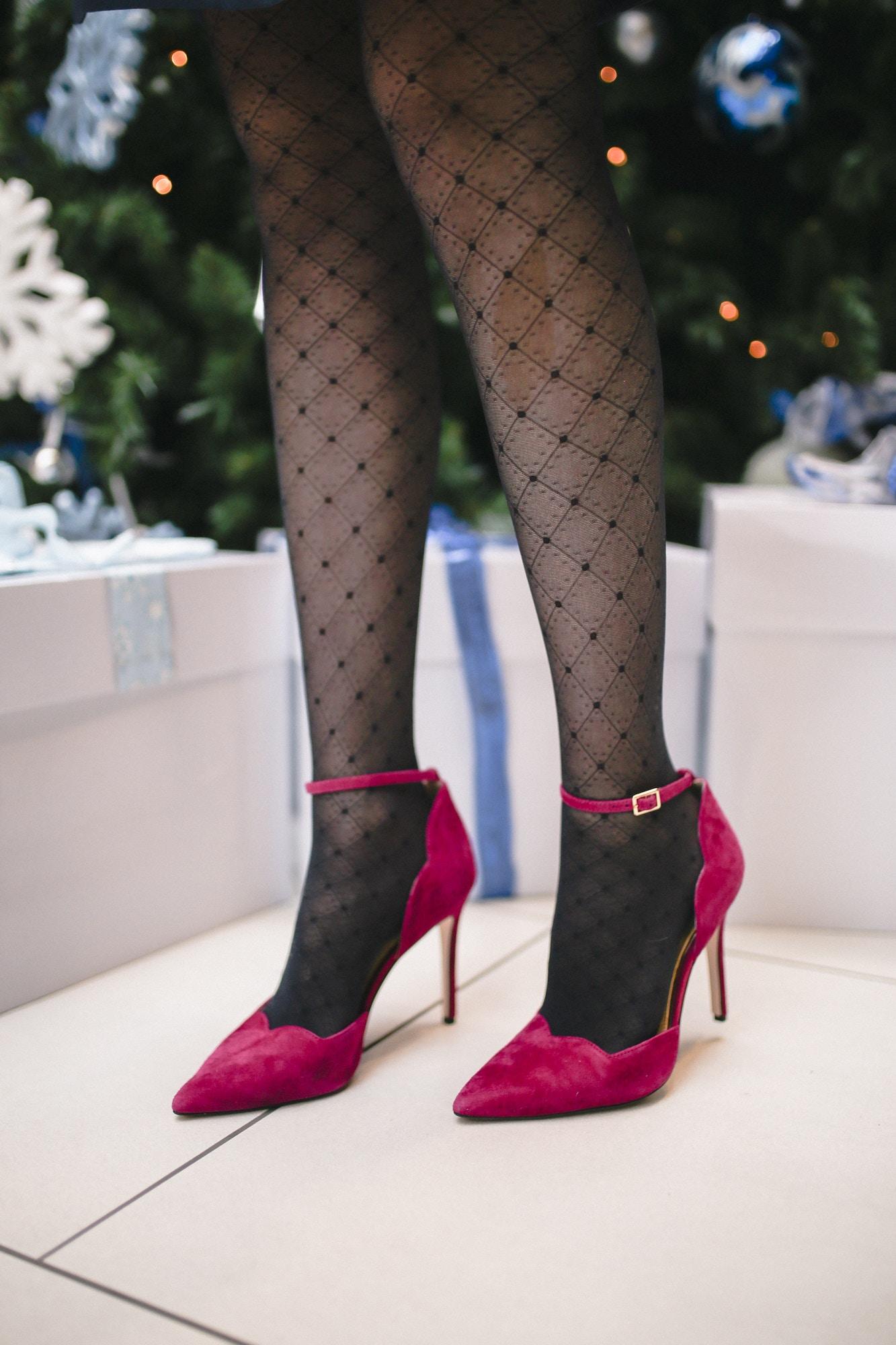 pink suede Jessica Simpson Pairus pumps