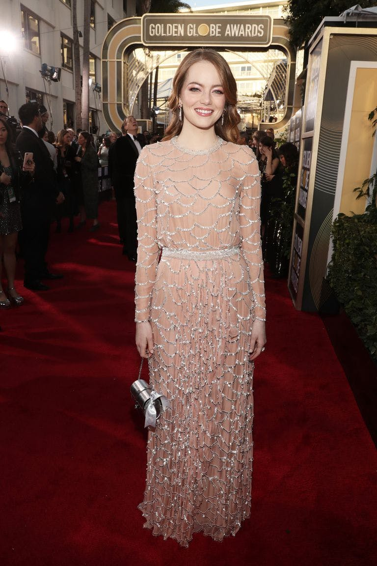 Emma Stone Golden Globes 2019