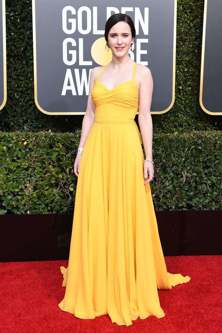 Rachel Brosnahan Prada 2019 Golden Globes