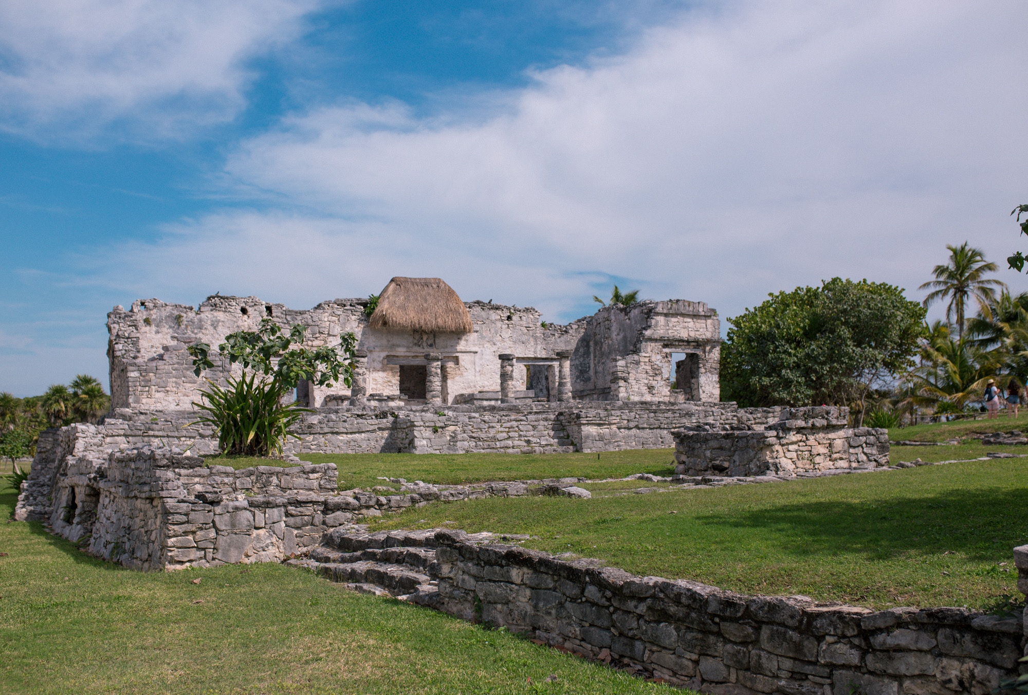The Palace building at the Tulum Archeological Site - I'm sharing 10 Tips for visiting Tulum, Mexico.