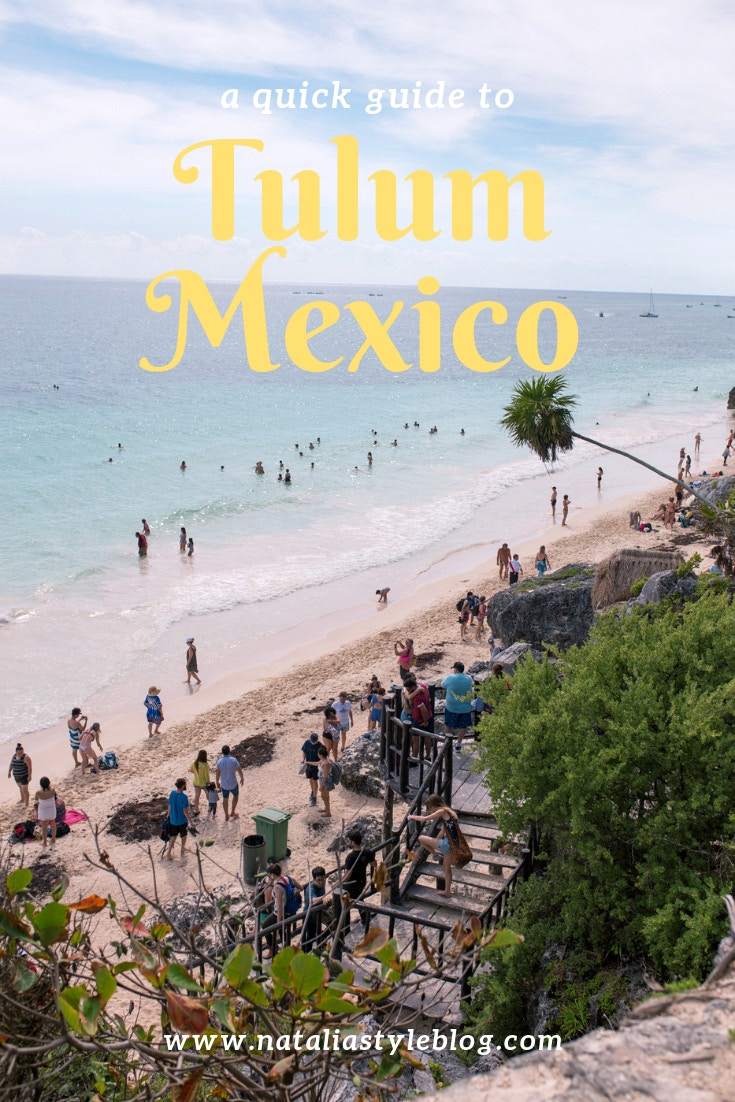 10 Helpful Tips for visiting Tulum, Mexico: Use this travel guide to plan your day trip to Tulum from Playa del Carmen.