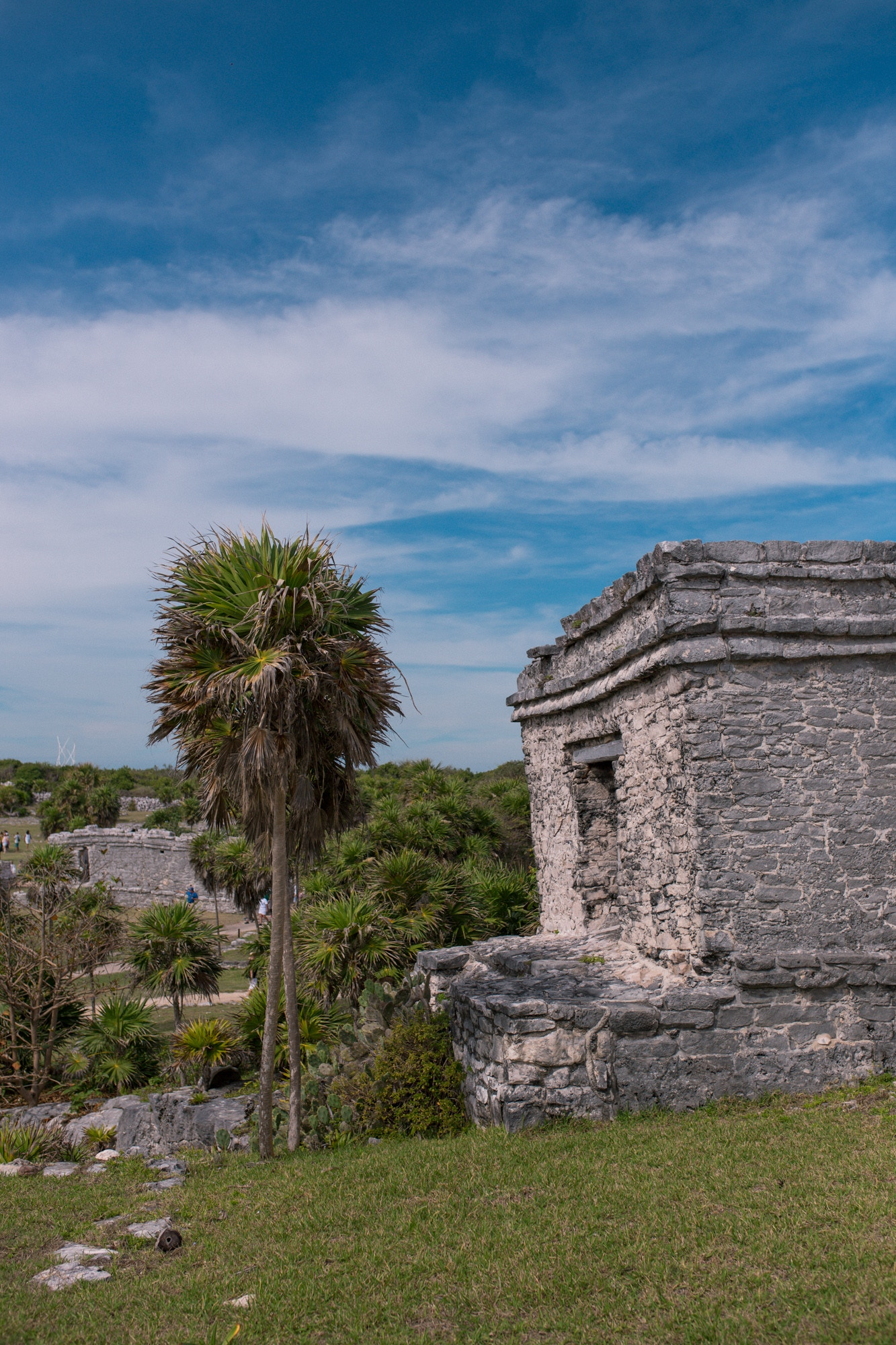Gorgeous views at the Mayan ruins of Tulum