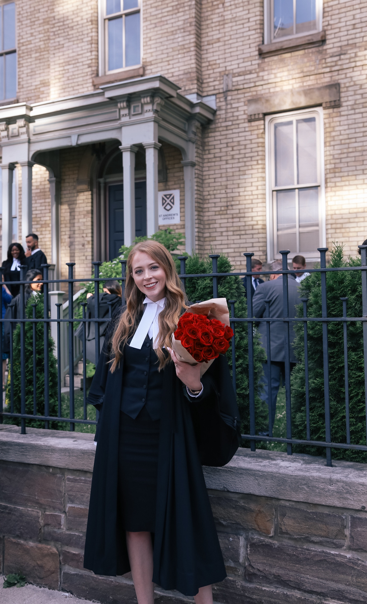 What I wore to get called to the bar in Ontario: robes, and Christian Louboutin pumps.