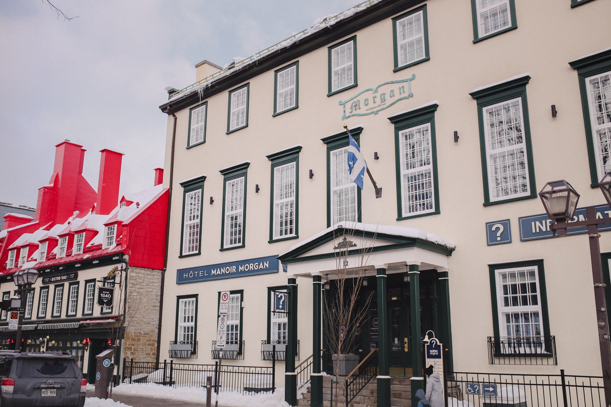 Best place to stay in Quebec City
