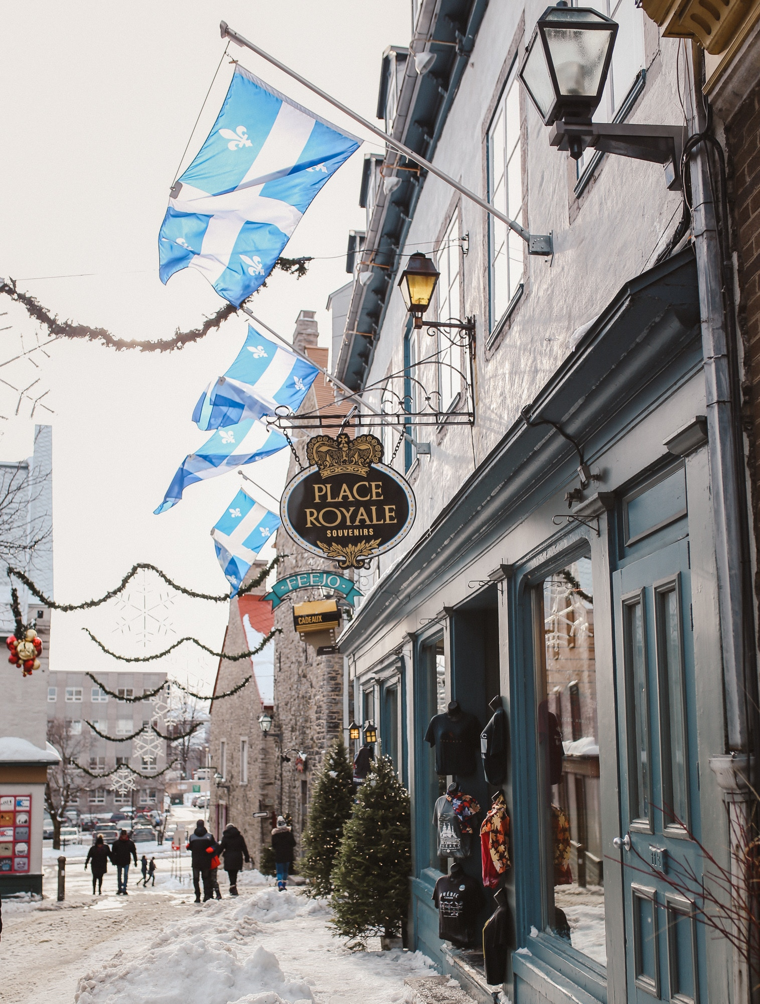 Quartier Petit Champlain in Quebec City is home to charming shops, restaurants and boutique hotels. See why it's at the top of my list as the top 10 things to do in Quebec City in winter.