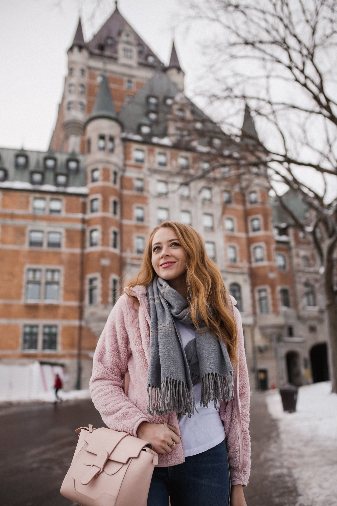 10 things to do in Quebec City - visit Chateau Frontenac, the chic luxury hotel that's also the most photographed hotel in the world.