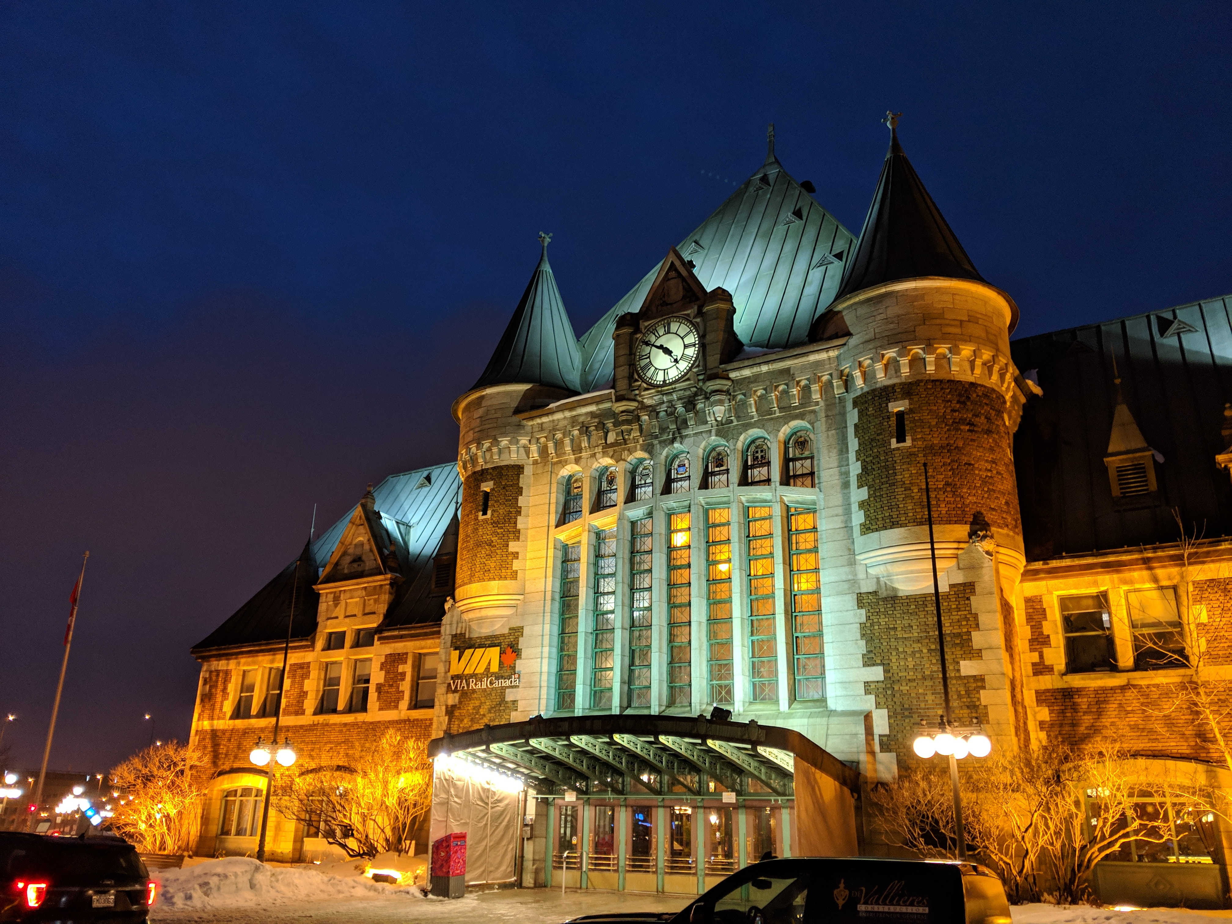 Quebec City train station