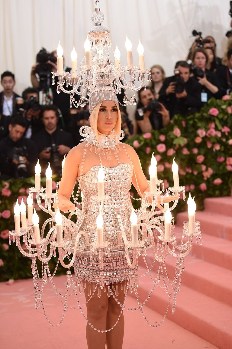 Katy Perry 2019 Met Gala Chandelier Dress