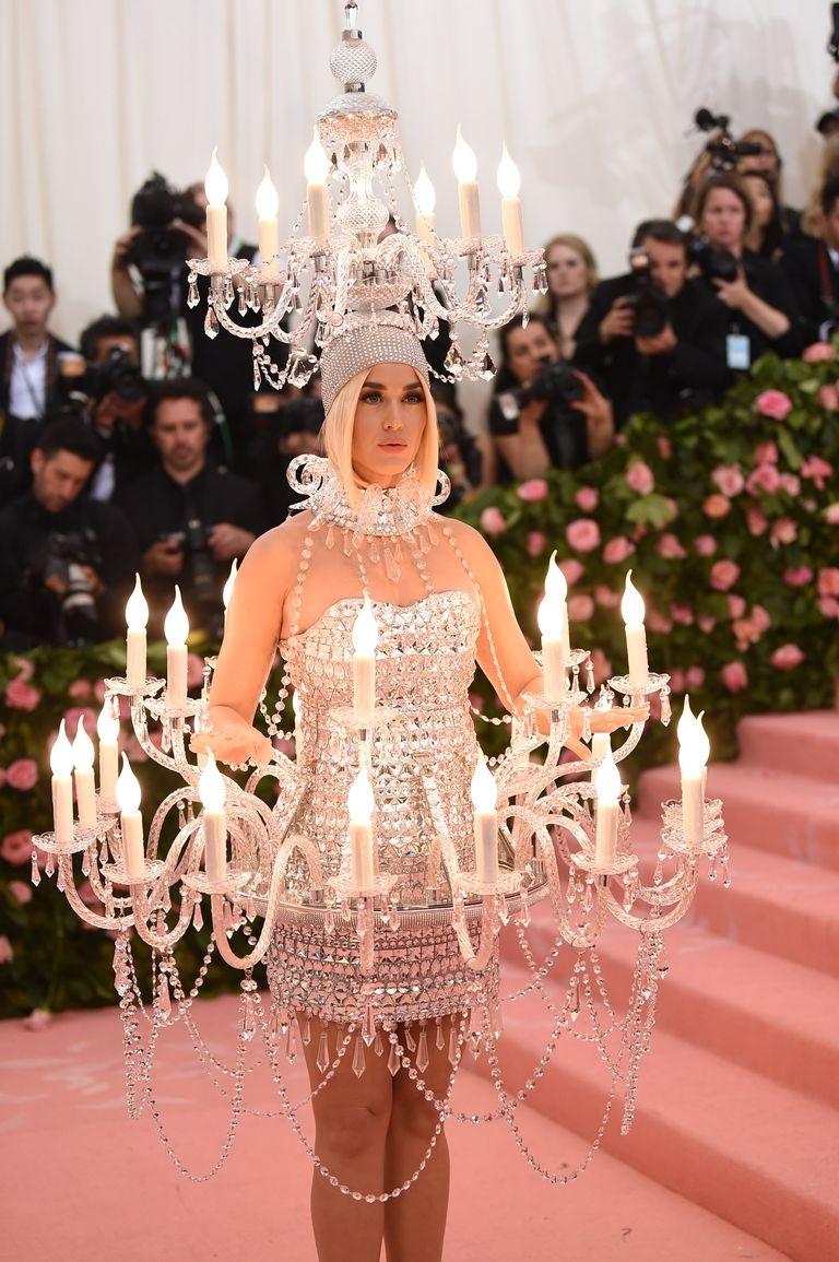 Katy Perry 2019 Met Gala Chandelier Dress