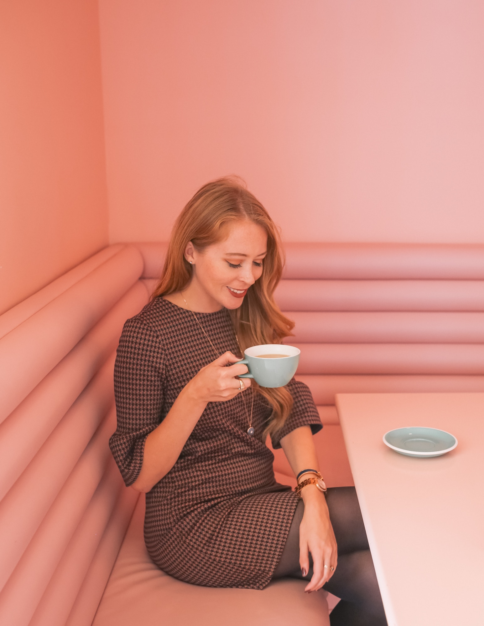 Pastel Rita, a chic cafe in Montreal's Mile-X is one of the 10 Most Instagrammable Spots in Montreal.