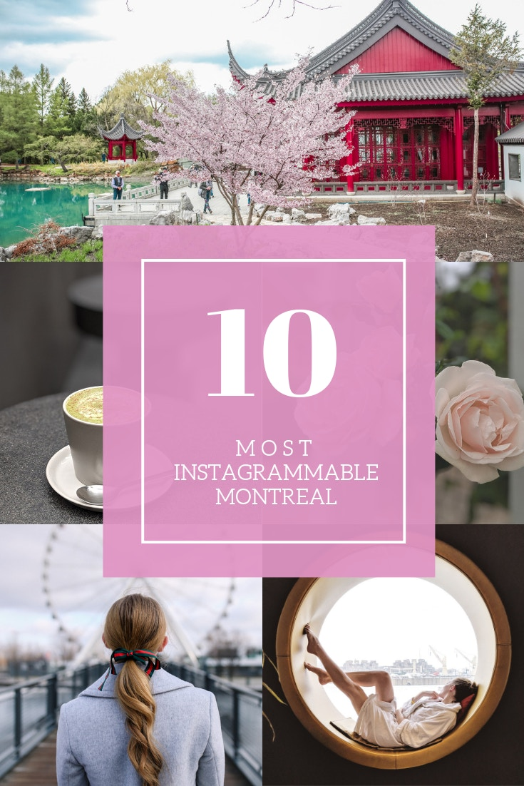10 Most Instagrammable Spots in Montreal: the chicest cafes in Saint Laurent, to indulgent day spas, Montreal has so many great spots to take a fabulous photo. Read this post for an insider's guide to Montreal, Canada.