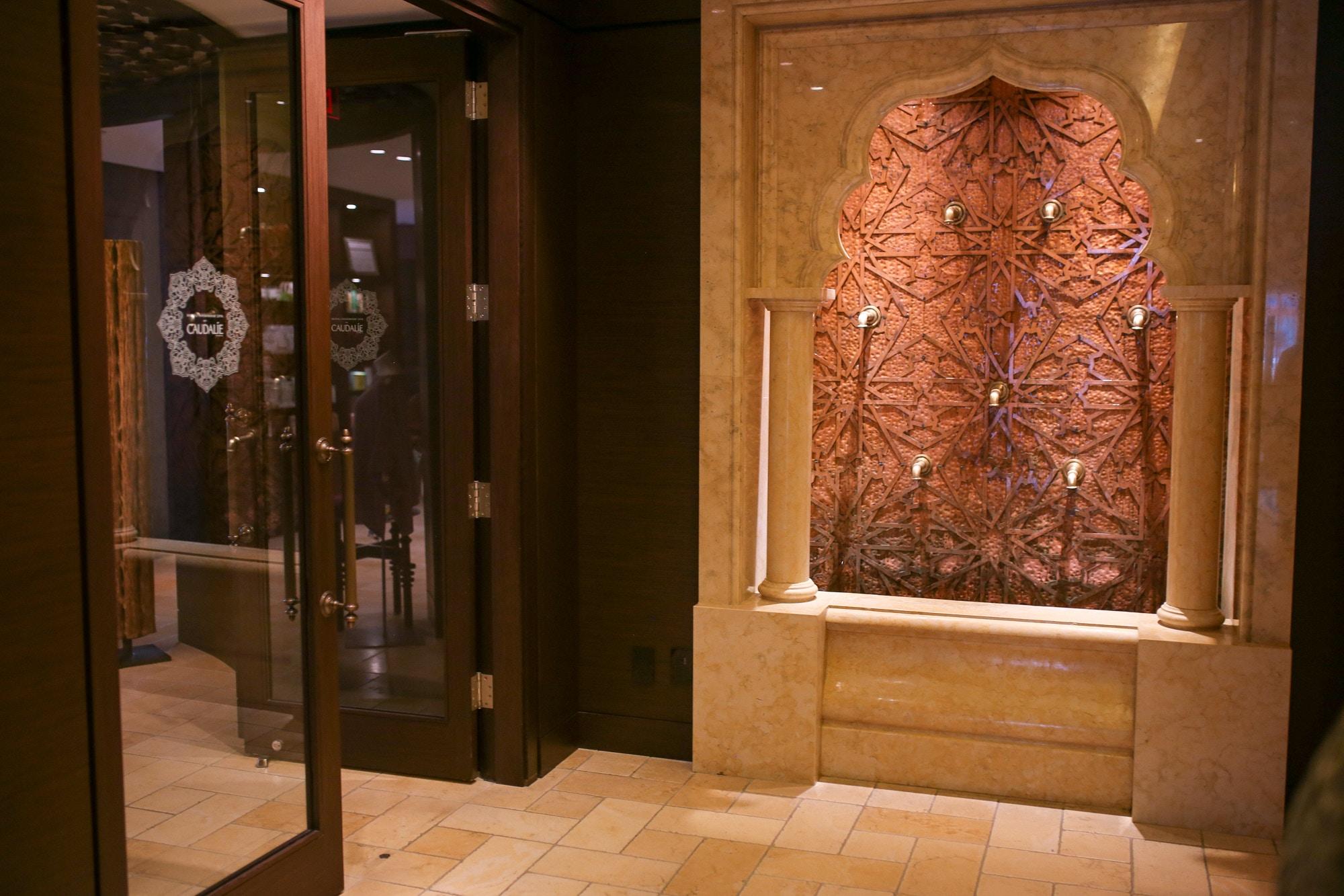 Inside the Miraj Hammam Spa by Caudalie at the Shangri-La Hotel Toronto