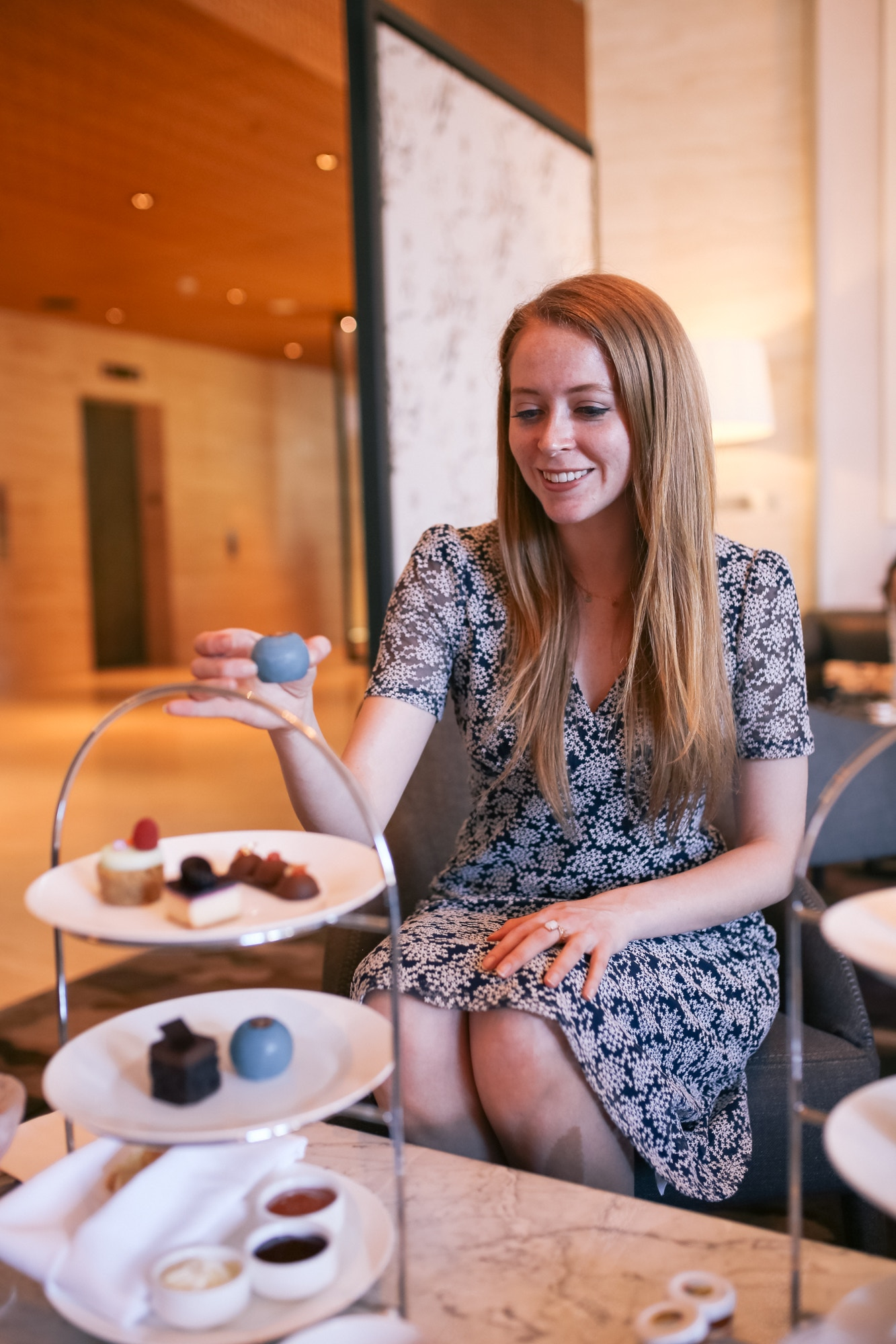 Gluten free high tea? You better believe it. The Shangri-La Hotel has lots of options for celiacs.
