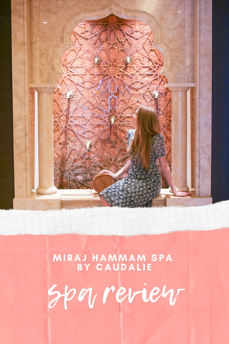 Miraj Hammam Spa by Caudalie in Toronto is a beautiful day spa with Moroccan decor and luxurious facial treatments.