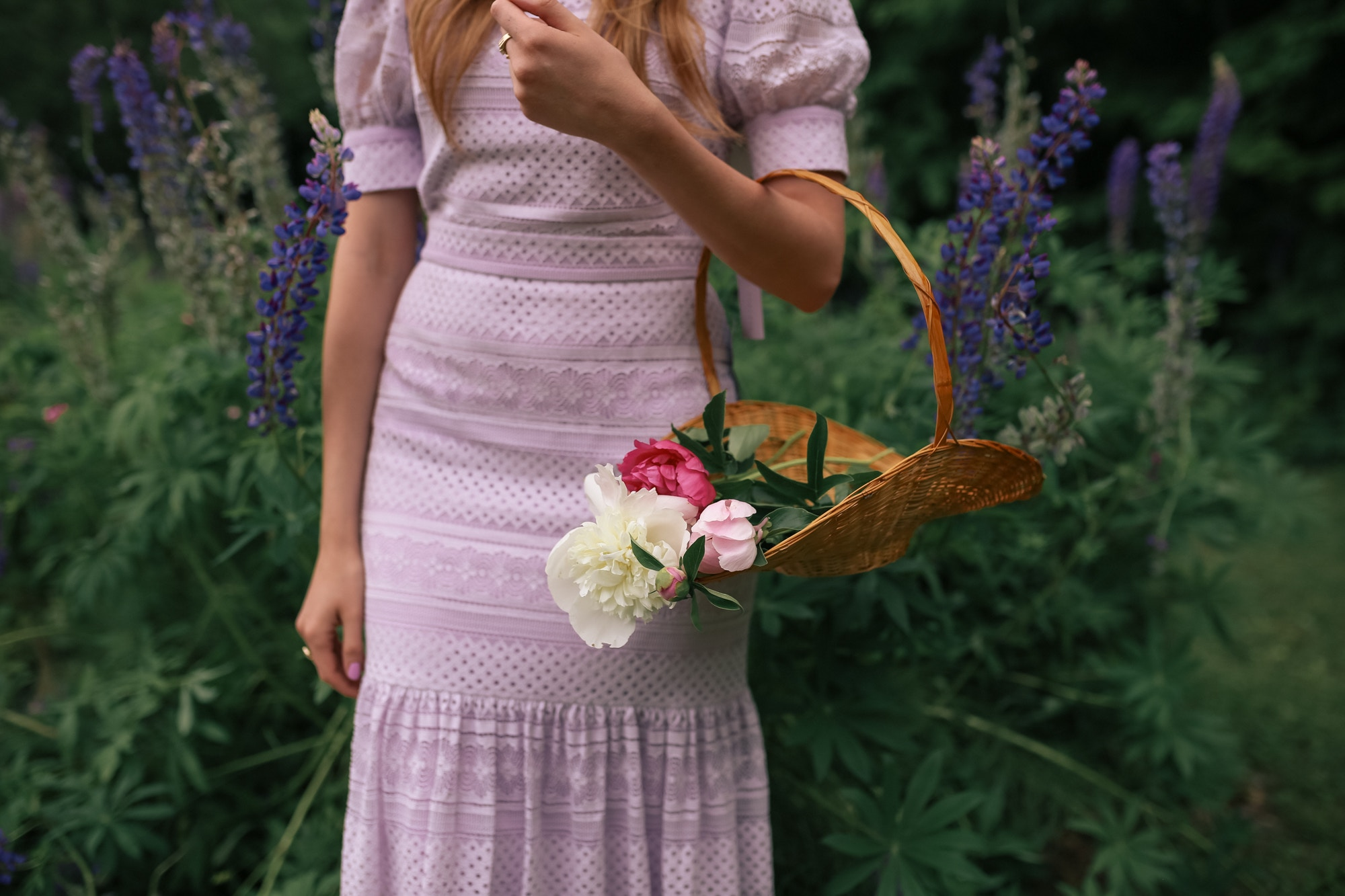 Pink Peonies and the Rachel Parcell Dress Collection