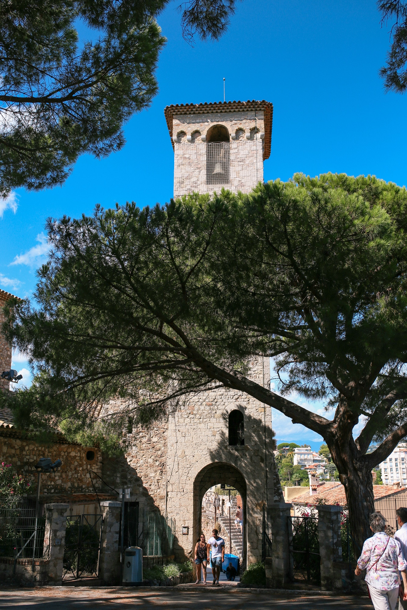 Clocktower in Le Suquet, Cannes
