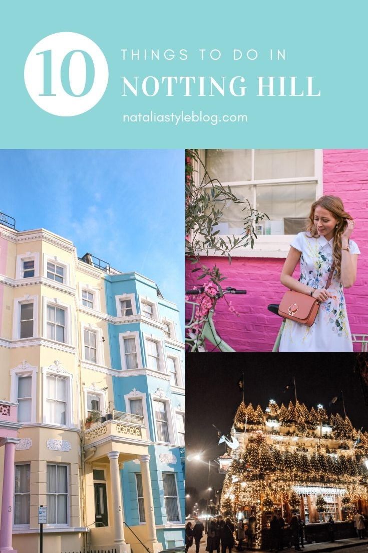 Top 10 Things to do in Notting Hill London - Colourful Houses, St. Luke's Mews
