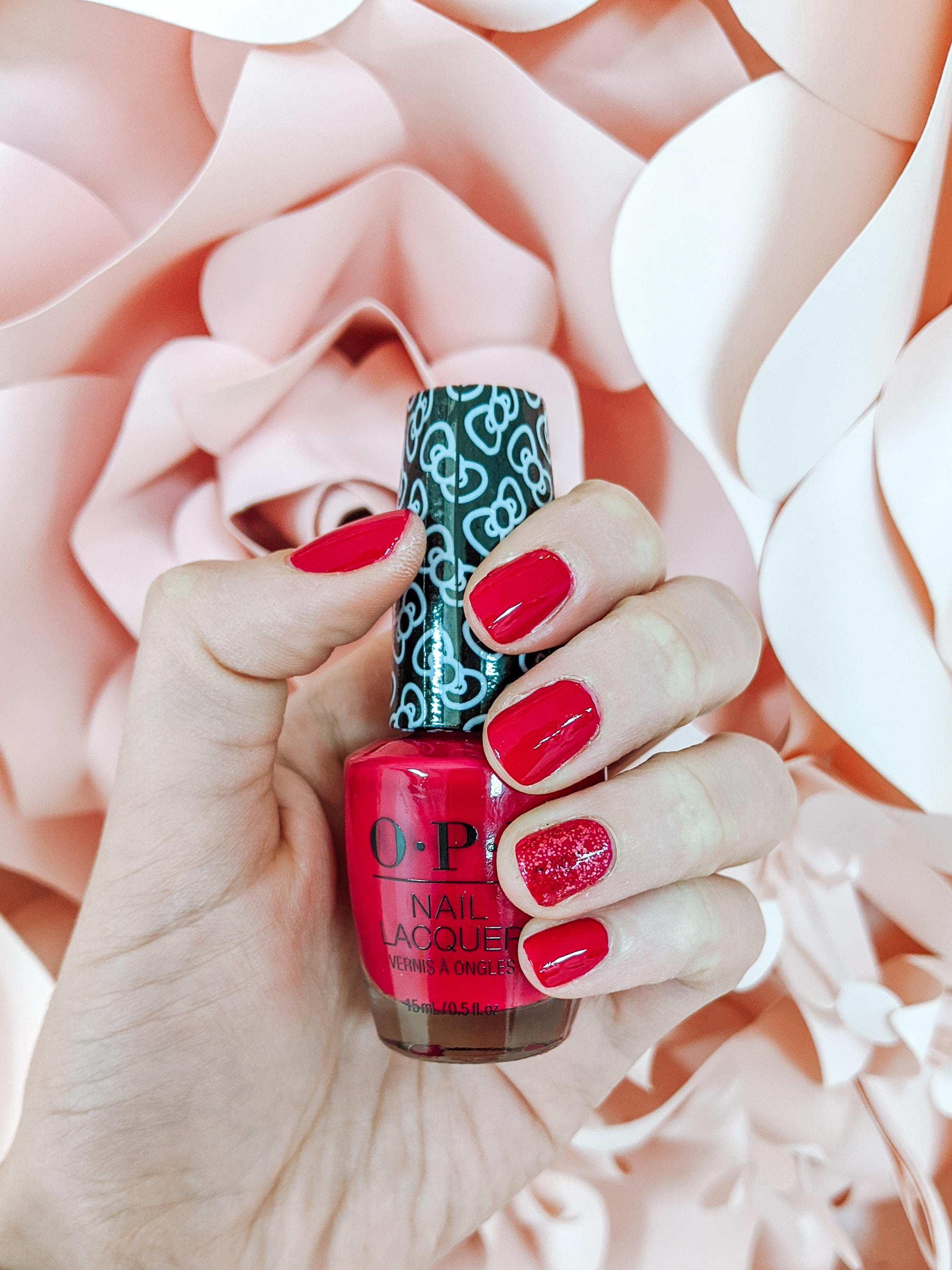 OPI x Hello Kitty Nail Polish in All About the Bows