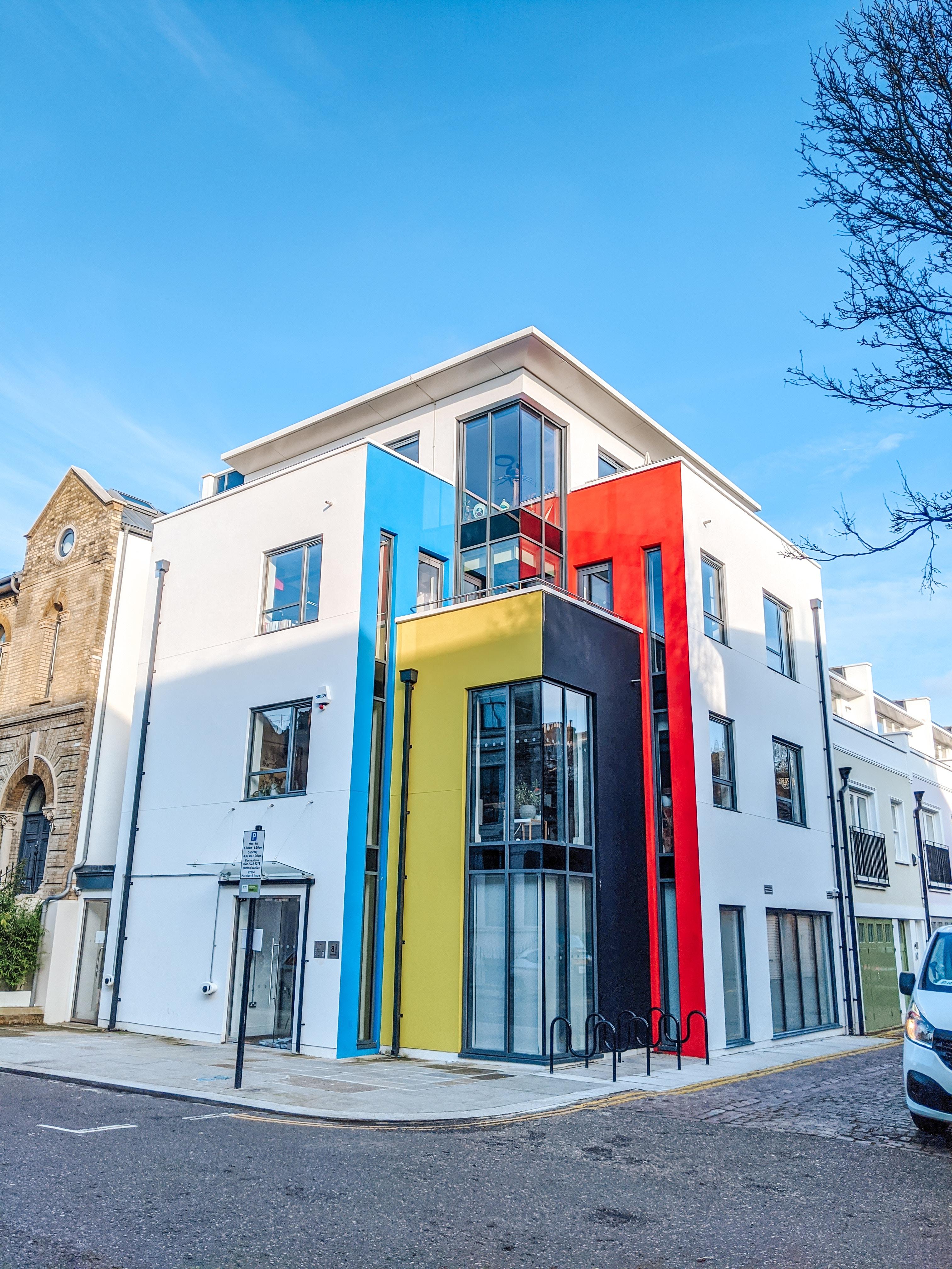 Modern House on Basing Street, Notting Hill