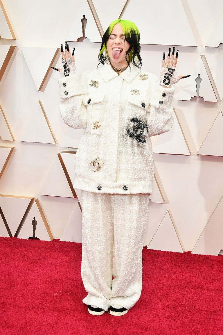 Billie Eilish Chanel Best Dressed Oscars 2020
