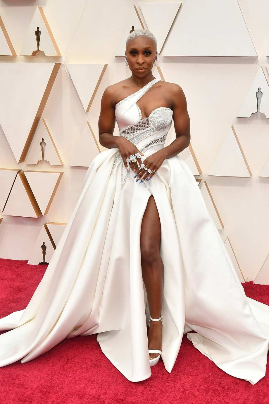 Cynthia Erivo in Versace: Best Dressed at the 2020 Oscars