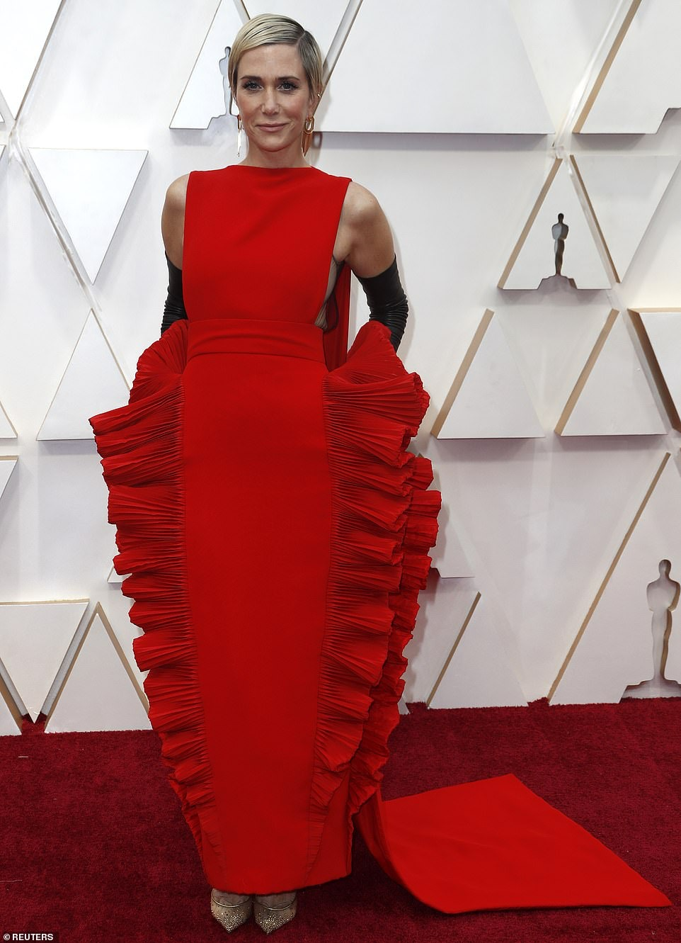 Kristen Wiig Valentino Oscars 2020 Worst Dressed