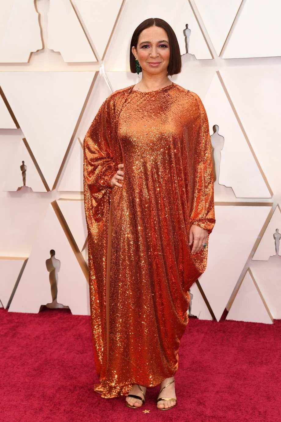 Maya Rudolph Valentino Worst Dressed Oscars 2020