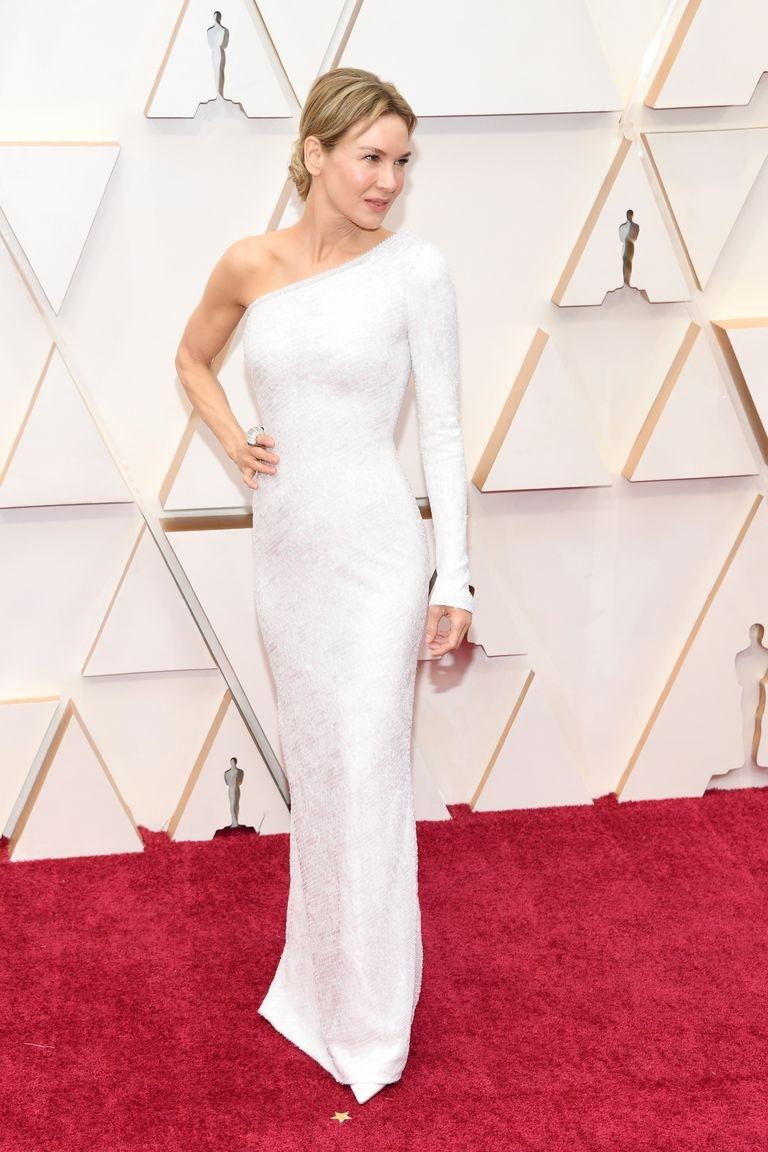 Renee Zellweger Best Dressed Oscars 2020 Armani