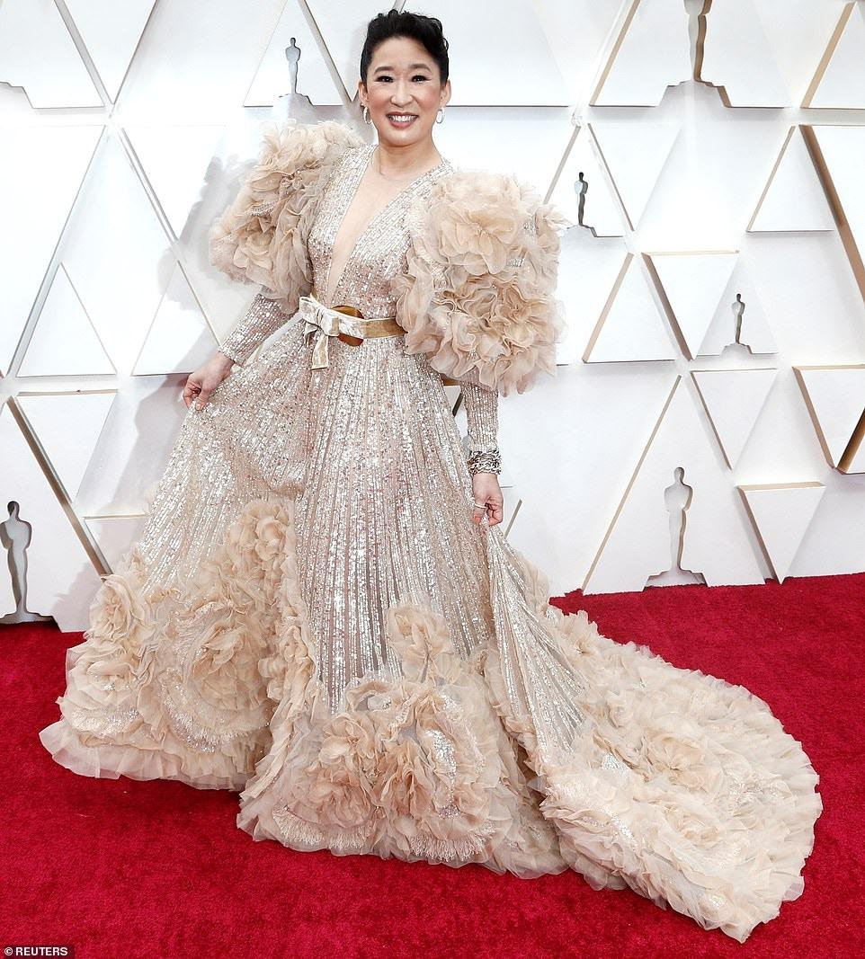 Sandra Oh Elie Saab Worst Dressed Oscars 2020