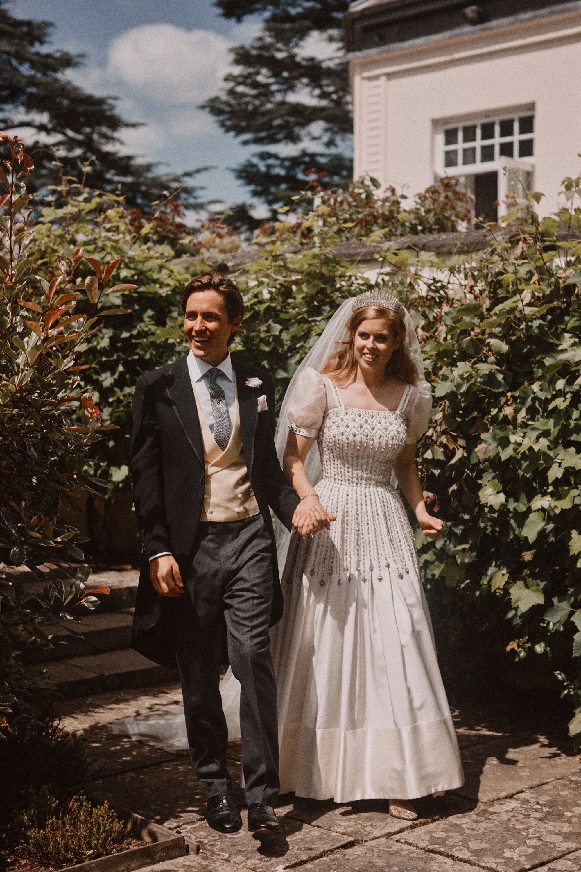 Princess Beatrice and Edoardo Mapelli Mozzi wedding day