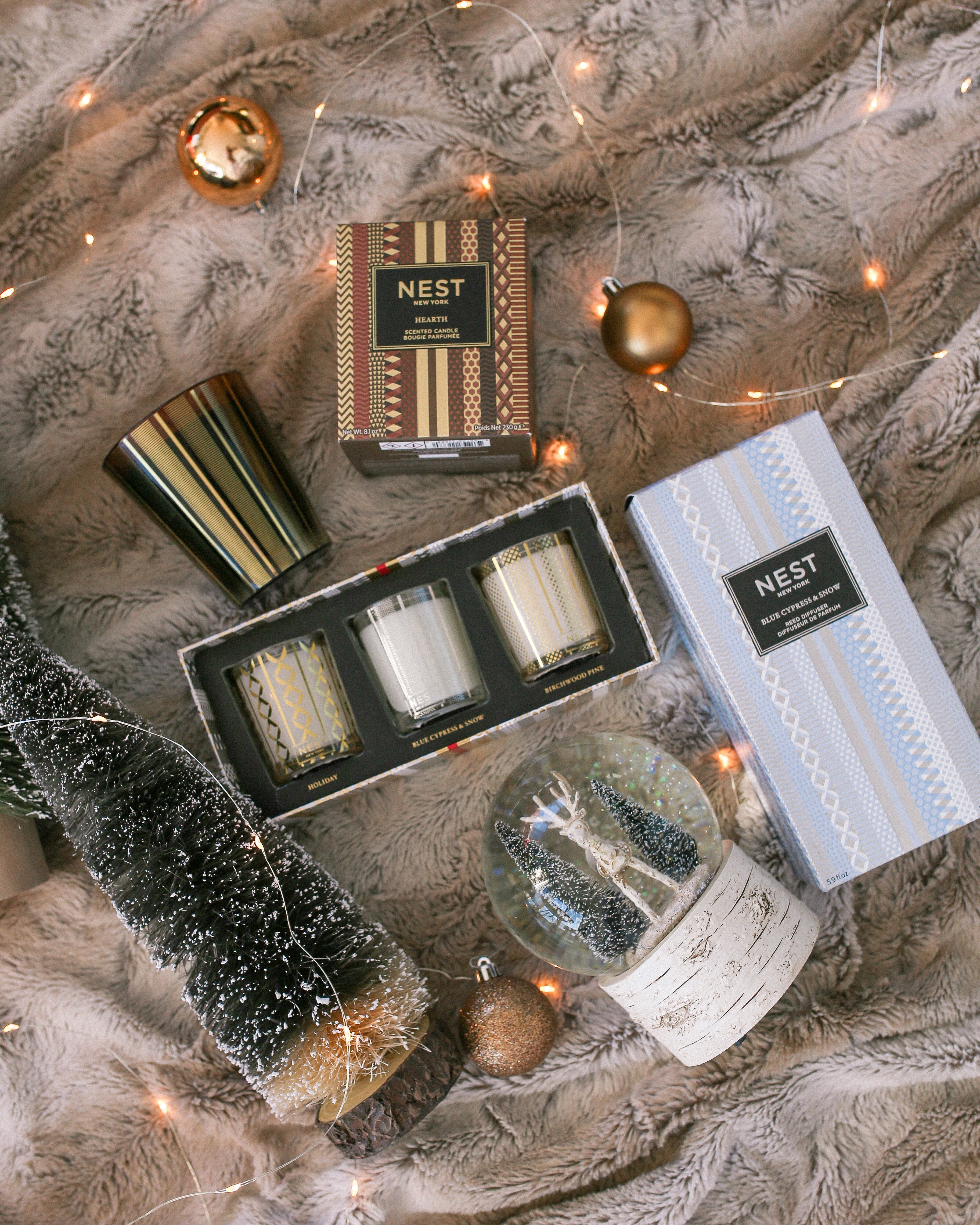 Nest Fragrances Holiday Gift Sets and Scents