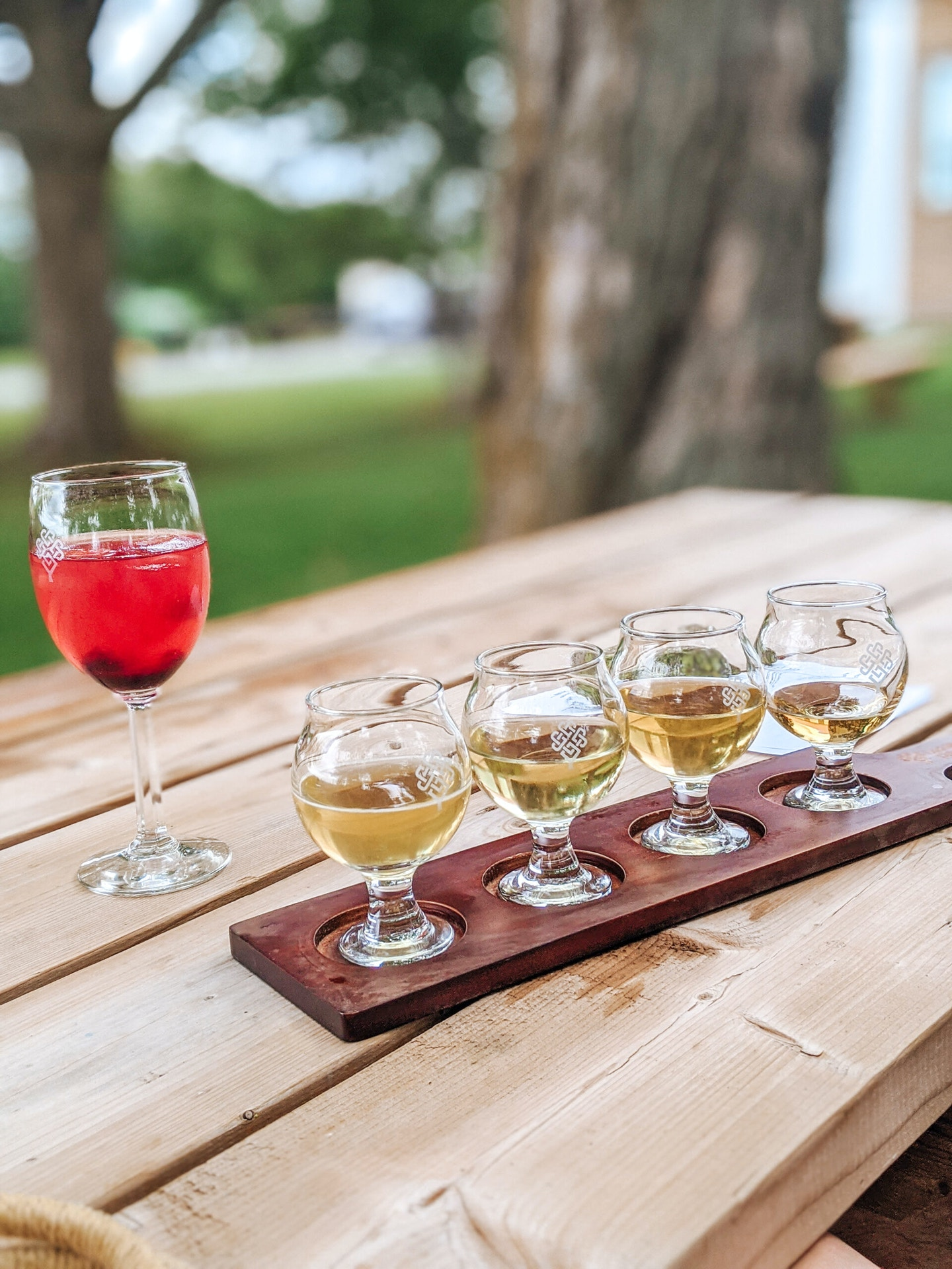 Loch Mor Cider Co is one of my favourite cider companies in Prince Edward County. A tasting flight of their dry cider can't be missed!